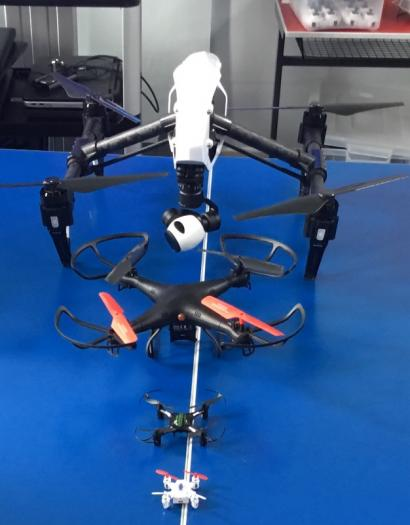 Nano, quadcopters, recon drone and DJI Inspire 1