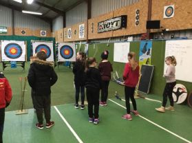 Extended Schools sport through archery