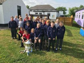 A visit from the Ulster Cup