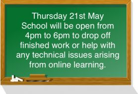 Thursday 21st May